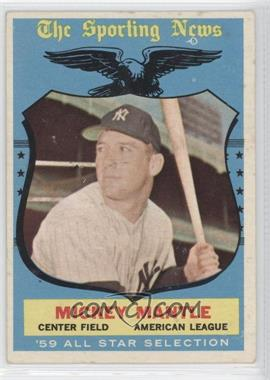 1959 Topps - [Base] #564 - Mickey Mantle