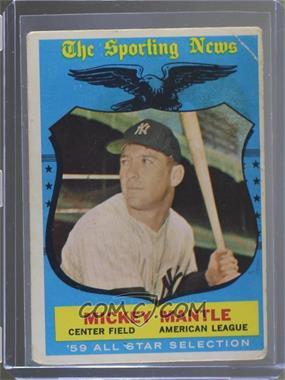 1959 Topps - [Base] #564 - Mickey Mantle [Poor to Fair]