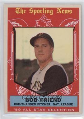 1959 Topps - [Base] #569 - Bob Friend