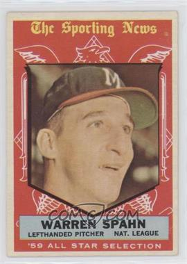 1959 Topps - [Base] #571 - Warren Spahn