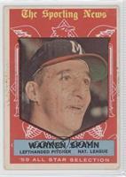 Warren Spahn [GoodtoVG‑EX]
