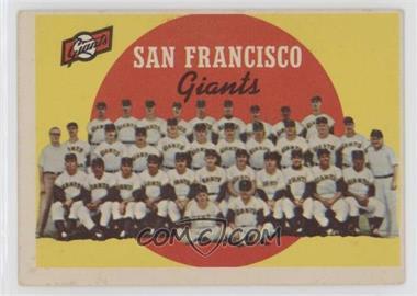 1959 Topps - [Base] #69 - San Francisco Giants Team