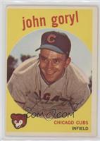 Johnny Goryl, John Goryl [GoodtoVG‑EX]