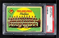 Philadelphia Phillies Team (First Series Checklist) [PSA7NM]