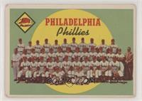 Philadelphia Phillies Team (First Series Checklist) [NoneGoodto&nbs…