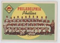 Philadelphia Phillies Team (First Series Checklist)