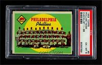 Philadelphia Phillies Team (First Series Checklist) [PSA6EX‑M…
