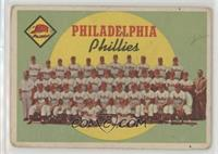 Philadelphia Phillies Team (First Series Checklist) [GoodtoVG‑…