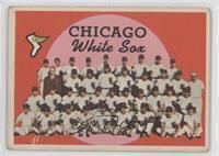 Chicago White Sox Team (2nd Series Checklist) [GoodtoVG‑EX]