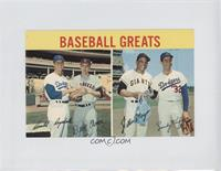 Baseball Greats (Don Drysdale, Dean Chance, Willie Mays, Sandy Koufax)