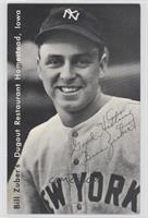 Bill Zuber (Ten Commandments of Baseball Card)