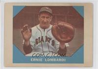 Ernie Lombardi [GoodtoVG‑EX]