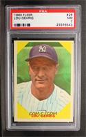 Lou Gehrig [PSA7NM]
