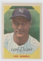 Lou Gehrig [Noted]