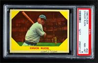 Chuck Klein [PSA 8 NM‑MT]