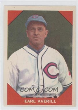 1960 Fleer - [Base] #71 - Earl Averill