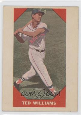 1960 Fleer - [Base] #72 - Ted Williams
