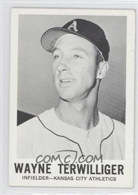 1960 Leaf - [Base] #134 - Wayne Terwilliger