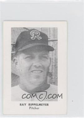 1960 Seattle Rainiers Popcorn - [Base] #N/A - Ray Rippelmeyer