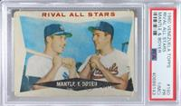 Rival All-Stars (Mickey Mantle, Ken Boyer) [PSA1PR(MC)]