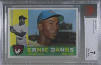 Ernie Banks [BVG 7 NEAR MINT]