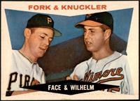 Fork & Knuckler (Roy Face, Hoyt Wilhelm) [GEM MT]
