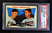 Fork & Knuckler (Roy Face, Hoyt Wilhelm) [PSA 8 NM‑MT]