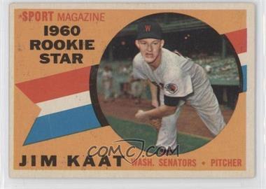 1960 Topps - [Base] #136 - Jim Kaat