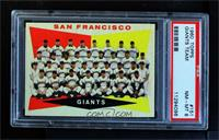 San Francisco Giants Team [PSA 8 NM‑MT]