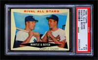 Rival All-Stars (Mickey Mantle, Ken Boyer) [PSA 5 EX]