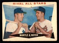 Rival All-Stars (Mickey Mantle, Ken Boyer) [POOR]