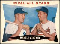 Rival All-Stars (Mickey Mantle, Ken Boyer) [NM]