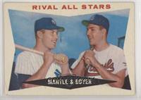 Rival All-Stars (Mickey Mantle, Ken Boyer)
