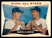 Rival All-Stars (Mickey Mantle, Ken Boyer) [FAIR]
