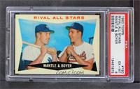 Rival All-Stars (Mickey Mantle, Ken Boyer) [PSA6]