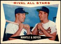 Rival All-Stars (Mickey Mantle, Ken Boyer) [VG+]