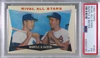 Rival All-Stars (Mickey Mantle, Ken Boyer) [PSA5EX]