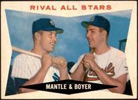 Rival All-Stars (Mickey Mantle, Ken Boyer) [VGEX+]
