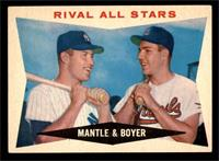 Rival All-Stars (Mickey Mantle, Ken Boyer) [VG EX]