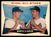Rival All-Stars (Mickey Mantle, Ken Boyer) [GOOD]