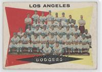 Los Angeles Dodgers Team [Good to VG‑EX]