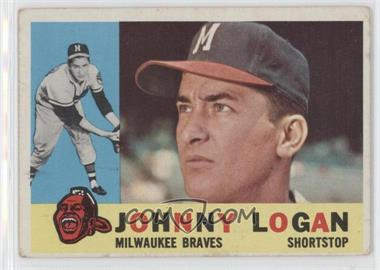 1960 Topps - [Base] #205 - Johnny Logan