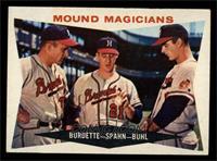 Mound Magicians (Lou Burdette, Warren Spahn, Bob Buhl) [EXMT]