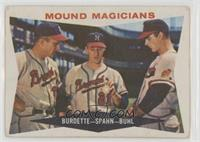 Mound Magicians (Lou Burdette, Warren Spahn, Bob Buhl) [Poor to Fair]