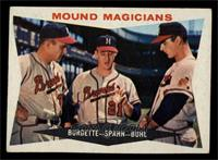 Mound Magicians (Lou Burdette, Warren Spahn, Bob Buhl) [EX]