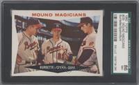 Mound Magicians (Lou Burdette, Warren Spahn, Bob Buhl) [SGC86]