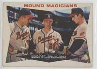 Mound Magicians (Lou Burdette, Warren Spahn, Bob Buhl) [Good to VG…