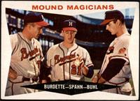 Mound Magicians (Lou Burdette, Warren Spahn, Bob Buhl) [GEMMT]