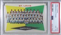 St. Louis Cardinals Team [PSA4VG‑EX]