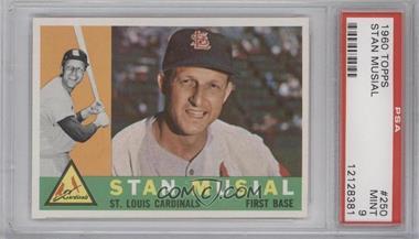 1960 Topps - [Base] #250 - Stan Musial [PSA9]